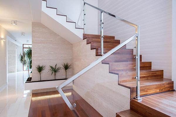 maison neuve escalier intérieur alsace construction constructeur 68 haut rhin