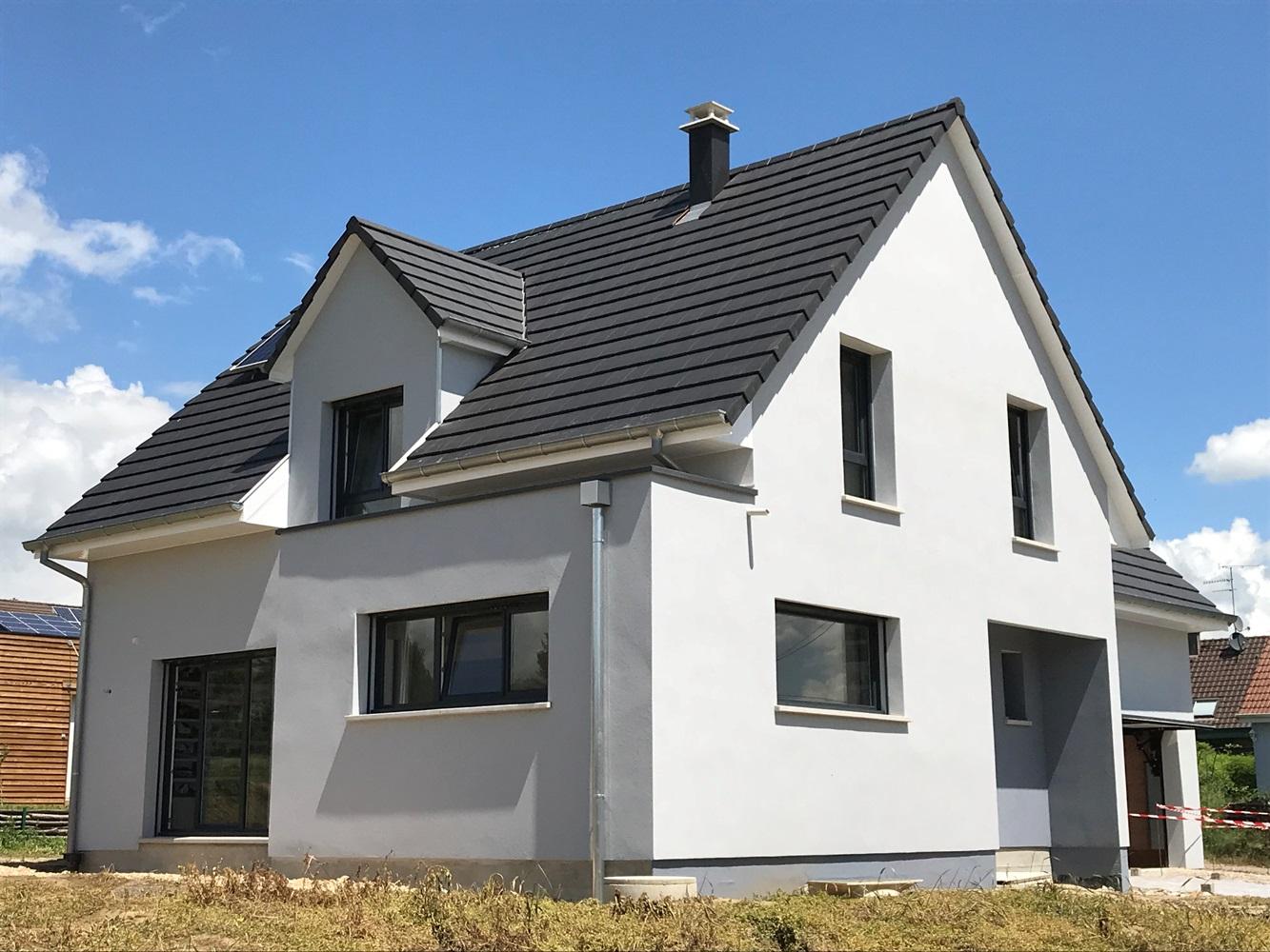 Alsace construction constructeur maison neuve individuelle jumelee design contemporaine architecture moderne haut rhin 68